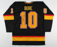 "Pavel Bure Signed Jersey Inscribed ""HOF 12"" (Beckett COA) at PristineAuction.com"