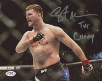 "Stipe Miocic Signed 8x10 Photo Inscribed ""The Champ"" (PSA COA) at PristineAuction.com"