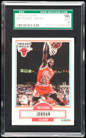 Michael Jordan 1990-91 Fleer #26 (SGC 9) at PristineAuction.com