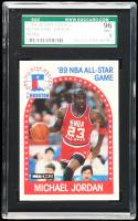 Michael Jordan 1989-90 Hoops #21 AS (SGC 9) at PristineAuction.com