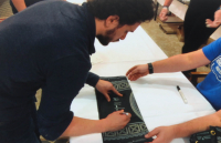"""Kit Harington Signed """"Game of Thrones"""" 20x58 """"Winter is Coming"""" Tournament Banner (Radtke COA) at PristineAuction.com"""
