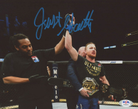 Justin Gaethje Signed UFC 8x10 Photo (PSA COA) at PristineAuction.com