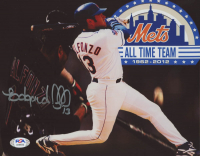 Edgardo Alfonzo Signed Mets 8x10 Photo (PSA COA) at PristineAuction.com