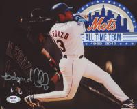 Edgardo Alfonzo Signed Mets 8x10 Photo (PSA COA) at PristineAuction.com