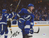 Anthony Cirelli Signed Lightning 8x10 Photo (PSA COA) at PristineAuction.com