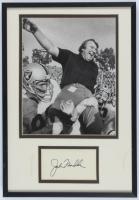 John Madden Signed Raiders 11x16 Custom Framed Cut Display (JSA ALOA) at PristineAuction.com