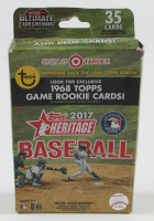 2018 Topps Heritage Baseball Hanger Box of (35) Cards at PristineAuction.com