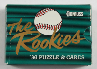 1986 Donruss Rookies Baseball Card Set with Barry Bonds RC at PristineAuction.com