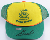 "Gaten Matarazzo Signed ""Stranger Things"" Camp Know Where Hat (Radtke COA) at PristineAuction.com"