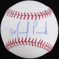 Michael Pineda Signed OML Baseball (Fanatics Hologram & MLB Hologram) at PristineAuction.com