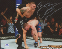"Dustin Poirier Signed UFC 8x10 Photo Inscribed ""The Diamond"" (PSA COA) at PristineAuction.com"