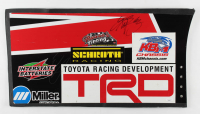Kyle Busch & Eric Jones Signed Car Panel (JSA COA) at PristineAuction.com