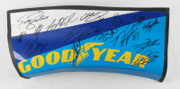 Goodyear Car Panel Signed by (15) with Todd Bodine, Chase Elliott, Cale Conley (JSA ALOA) at PristineAuction.com