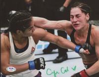 Cynthia Calvillo Signed UFC 8x10 Photo (PSA COA) at PristineAuction.com