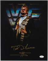 """Ted DiBiase Signed WWE 11x14 Photo Inscribed """"$"""" (JSA COA) at PristineAuction.com"""