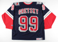 Wayne Gretzky Signed Rangers Authentic CCM Jersey (JSA LOA) at PristineAuction.com
