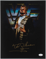 "Ted DiBiase Signed WWE 11x14 Photo Inscribed ""$"" (JSA COA) at PristineAuction.com"