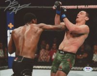 Kevin Holland Signed UFC 8x10 Photo (PSA COA) at PristineAuction.com