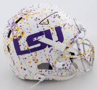 Tyrann Mathieu Signed LSU Tigers Full-Size Authentic On-Field Hydro-Dipped Helmet (JSA Hologram) at PristineAuction.com