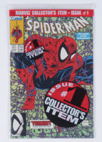 "1990 ""Spider-Man: The Legend of the Arachknight"" Issue #1 Marvel Green Edition Comic Book at PristineAuction.com"