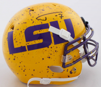 Tyrann Mathieu Signed LSU Tigers Full-Size Authentic On-Field Hydro Dipped Helmet (JSA COA) at PristineAuction.com