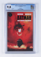 "2019 ""Batman: Last Knight on Earth"" Issue #1 DC Comics Comic Book (CGC 9.8) at PristineAuction.com"