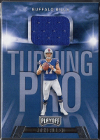 Josh Allen 2018 Playoff Turning Pro Jersey Card #TPJA RC at PristineAuction.com