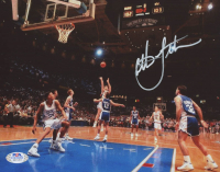 Christian Laettner Signed Duke Blue Devils 8x10 Photo (PSA COA) at PristineAuction.com