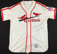 "Stan Musial Signed Cardinals Jersey Inscribed ""3630 Hits"" (Beckett COA) at PristineAuction.com"
