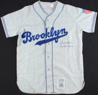 "Pee Wee Reese Signed Dodgers Jersey Inscribed ""Best Wishes"" (PSA COA) at PristineAuction.com"