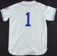 """Pee Wee Reese Signed Dodgers Jersey Inscribed """"Best Wishes"""" (PSA COA) at PristineAuction.com"""