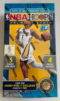 2019-20 Panini Hoops Premium Stock Basketball Hobby Box with (4) Packs at PristineAuction.com