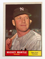 Mickey Mantle 1961 Topps #300 at PristineAuction.com