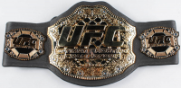 Ken Shamrock, Royce Gracie & Dan Severn Signed UFC Championship Belt with Multiple Inscriptions (JSA COA) at PristineAuction.com