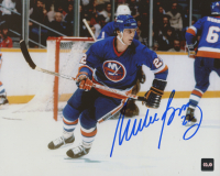 Mike Bossy Signed Islanders 8x10 Photo (COJO COA) at PristineAuction.com