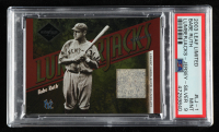 Babe Ruth 2003 Leaf Limited Lumberjacks Jersey Silver #1 (PSA 9) at PristineAuction.com