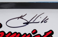 Kevin Harvick Signed Race-Used #4 Busch Beer Name Rail Sheet Metal (PA COA) at PristineAuction.com