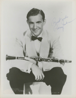 "Benny Goodman Signed 8x10 Photo Inscribed ""Best Wishes"" (JSA COA) at PristineAuction.com"