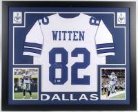 Jason Witten Signed 35x43 Custom Framed Jersey (Beckett COA & Witten Hologram) at PristineAuction.com