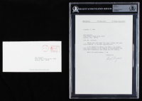 Ben Hogan Signed 1991 Typed Letter (BGS Encapsulated) at PristineAuction.com