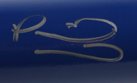 Patrick Mahomes II Signed LE 2020 Royals Engraved Louisville Slugger Baseball Bat (Beckett COA) at PristineAuction.com