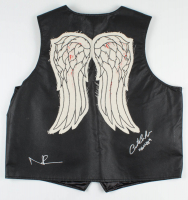 "Norman Reedus & Austin Amelio Signed ""The Walking Dead"" Vest Inscribed ""Dwight"" (Radtke COA) at PristineAuction.com"