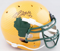 Davante Adams Signed Full-Size Hydro-Dipped Authentic On-Field Helmet (JSA COA) at PristineAuction.com