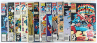 Lot of (12) Captain America Marvel Comic Books Issues Ranging from #10 - #402 at PristineAuction.com