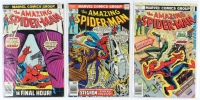 Lot of (3) Amazing Spider-Man Marvel Comic Books Issues Ranging from #164 - #168 at PristineAuction.com