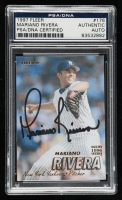 Mariano Rivera SIgned 1997 Fleer #176 (PSA Encapsulated) at PristineAuction.com
