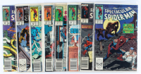 Lot of (8) Spectacular Spider-Man Marvel Comic Books Issues Ranging from #146 - #154 at PristineAuction.com