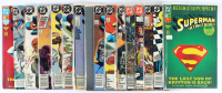 Lot of (15) Superman DC Comic Books Issues Ranging from #1 - #687 at PristineAuction.com