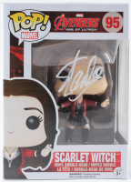 "Stan Lee Signed Marvel ""Avengers"" #95 Scarlet Witch Funko Pop! Vinyl Figure (Radtke COA) at PristineAuction.com"