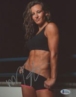 Miesha Tate Signed 8x10 Photo (Beckett COA) at PristineAuction.com